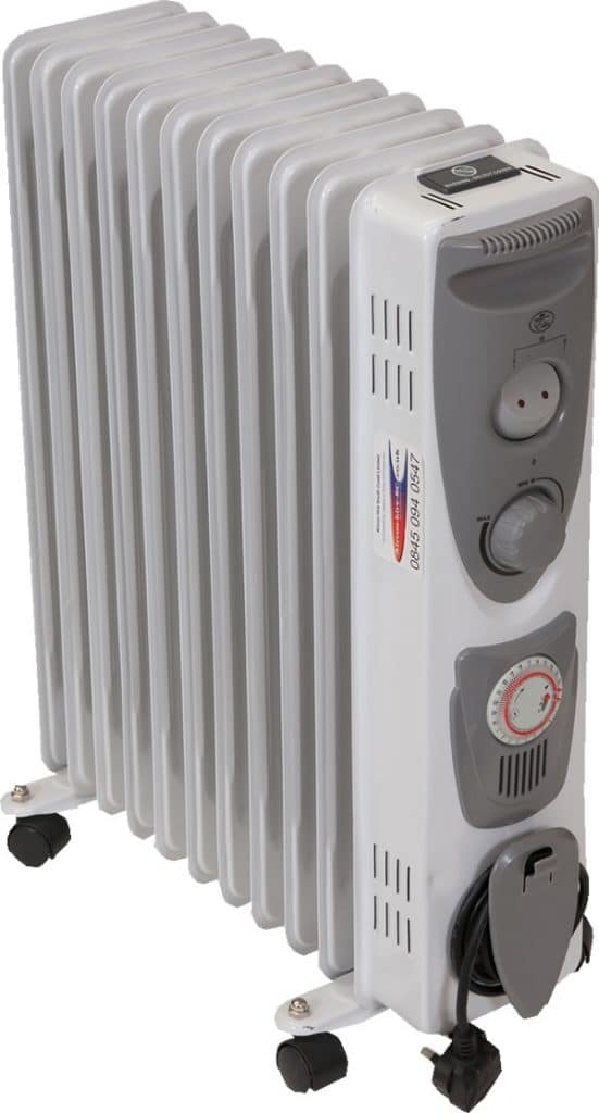 2.4kW Oil Filled Radiator Hire